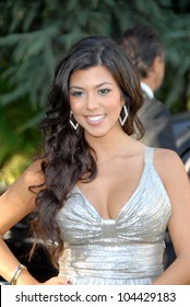 Kourtney Kardashian  at the Aces and Angels Celebrity Poker Party. Playboy Mansion, Beverly Hills, CA 07-11-09