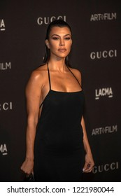 Kourtney Kardashian attends  2018 LACMA Art+Film Gala Honoring Catherine Opie + Guillermo Del Toro at LACMA, Los Angeles, California on November 3rd, 2018