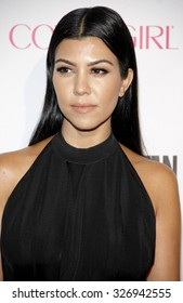 Kourtney Kardashian at the Cosmopolitan's 50th Birthday Celebration held at the Ysabel in West Hollywood, USA on October 12, 2015.