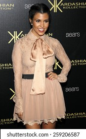 Kourtney Kardashian at the Kardashian Kollection Launch Party held at the Colony in Los Angeles, California, United States on August 17, 2011.