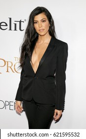 Kourtney Kardashian at the Los Angeles premiere of 'The Promise' held at the TCL Chinese Theatre in Hollywood, USA on April 12, 2017.