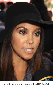 """Kourtney Kardashian at the """"Thomas & Friends: King Of The Railway The Movie"""" LA Premiere, Pacific Theaters, Los Angeles, CA 09-15-13"""