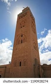 Koutobia Mosque, Marrakech, Morocco, Africa