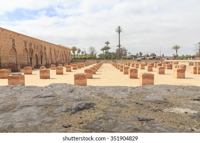 Koutoubia Mosque, Marakesh, Morocco, Africa, the main mosque and principle tourist attraction in central Marakesh