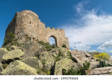 Kov Kalesi, ancient ruined Byzantine castle in Turkey - Shutterstock ID 1995793424