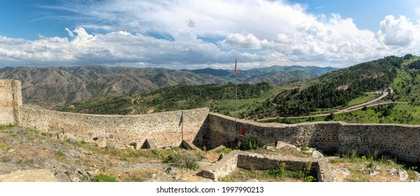 Kov Kalesi, ancient ruined Byzantine castle in Turkey - Shutterstock ID 1997990213