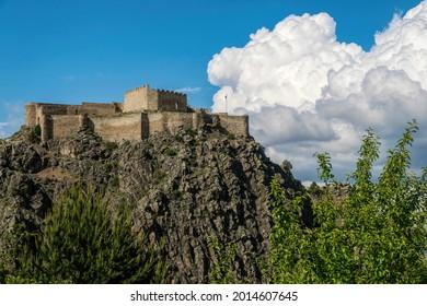 Kov Kalesi, ancient ruined Byzantine castle in Turkey - Shutterstock ID 2014607645