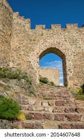 Kov Kalesi, ancient ruined Byzantine castle in Turkey - Shutterstock ID 2014607648