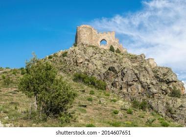 Kov Kalesi, ancient ruined Byzantine castle in Turkey - Shutterstock ID 2014607651