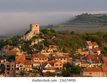 Kozi Hradek (Goat Tower) Mikulov (Nikolsburg) in South Moravia, Czech Republic