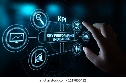KPI Key Performance Indicator Business Internet Technology Concept.