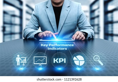 KPI Key Performance Indicator Business Internet Technology Concept.