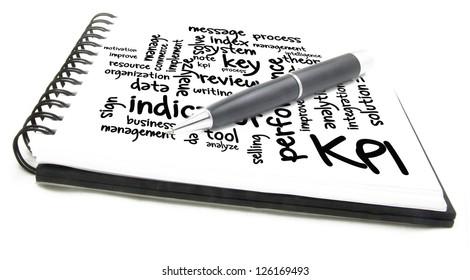 KPI wordcloud notes