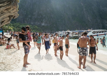 Krabi Thailand December 24 2017 Many Stock Photo Edit Now