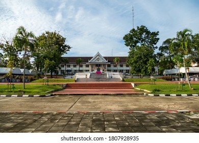 KRABI, THAILAND - OCTOBER 4, 2016: Krabi Town Hall administration center building.