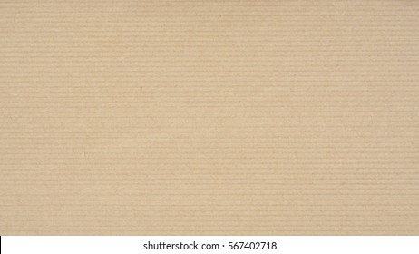 Kraft Paper Texture with horizontal stripes for background. Can be used for presentation, web templates and artworks.