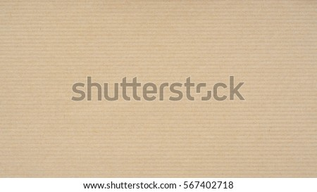kraft paper texture horizontal stripes background の写真素材 今