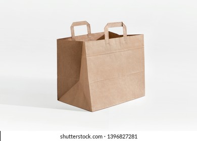 Kraft Take Away Paper Bag Small