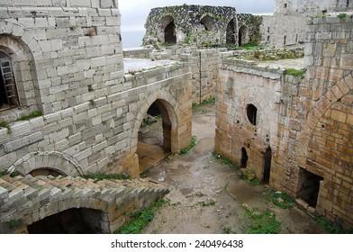 Krak des Chevaliers Castle - Syria (Before Civil War)