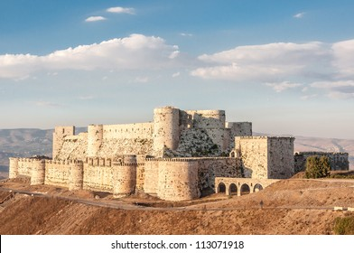 Krak des Chevaliers (Crac des Chevaliers) is a Crusader fortress in Syria