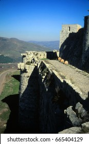 Krak des Chevaliers, most famous Crusader castle,Syria