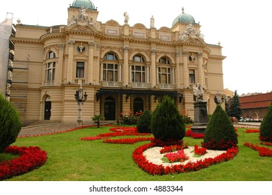 krakow opera house, poland