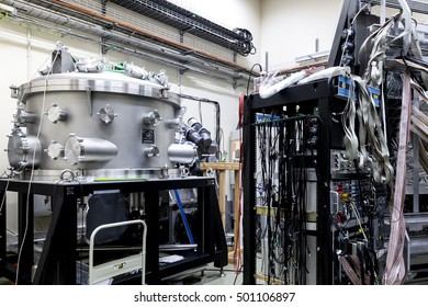 Krakow, Poland, circa May 2016. Laboratory in the Bronowice Cyclotron Center at the Institute of Nuclear Physics at the Polish Academy of Science in Krakow, Poland.