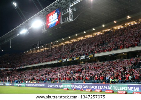Expo Stands Krzysztof Sobiech : Krakow poland february 17 2019 polish stock photo edit now