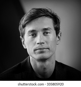Krakow, POLAND - November 4, 2015: Polish ski jumper, Kamil Stoch