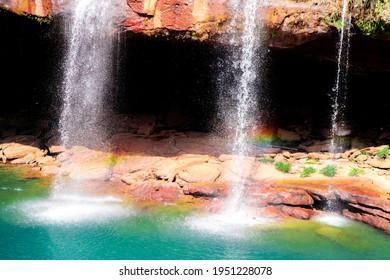 Krang Suri waterfall, Meghalaya, India