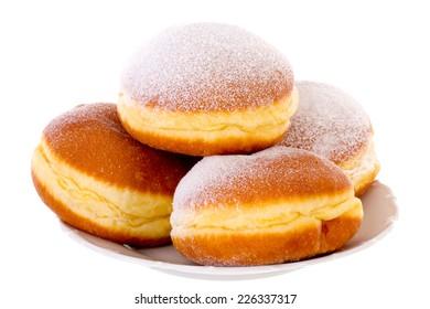 Krapfen Berliner Pfannkuchen Bismarck Donuts