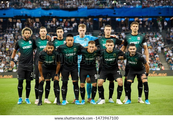 Krasnodar Russia August 7 2019 Fc People Stock Image 1473967100