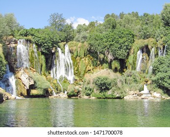 Kravica Waterfalls in the heartland of Herzegovina.