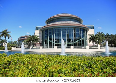 Kravis Center in downtown West Palm Beach, Florida is the local theater of the performing arts.