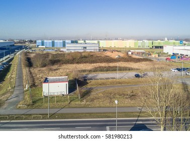 KREFELD / GERMANY - FEBRUARY 15, 2017 : Thyssenkrupp is shipping their products from the turnaround harbour of Krefeld, Germany