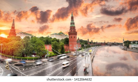 Kremlin - a fortress in the center of Moscow, the main socio-political, historical and artistic complex of the city, the official residence of the President of the Russian Federation