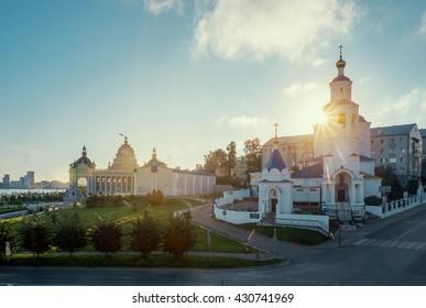 Kremlin in Kazan town the capital of Tatarstan republic. Russia