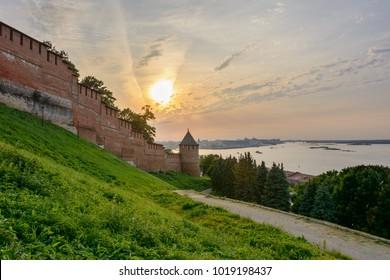 Kremlin in Nizhny Novgorod. Russia
