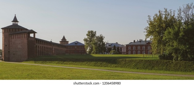 The Kremlin wall of Kolomna