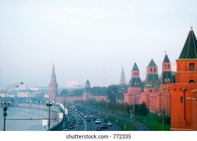 Kremlin's Towers, Moscow