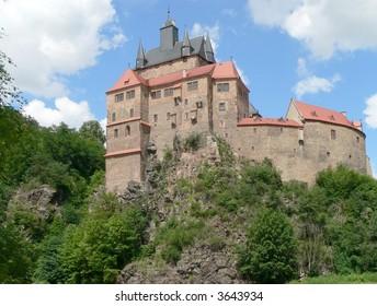 Kriebstein castle in Saxony