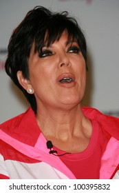 Kris Jenner at a press conference to announce a Global Partnership With Kim Kardashian And Kris Jenner, Beverly Wilshire, Beverly Hills, CA. 11-22-10
