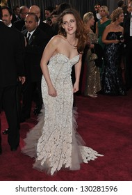Kristen Stewart at the 85th Academy Awards at the Dolby Theatre, Hollywood. February 24, 2013  Los Angeles, CA Picture: Paul Smith