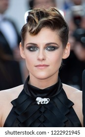 Kristen Stewart attends the screening of 'Everybody Knows (Todos Lo Saben)' and the opening gala during the 71st annual Cannes Film Festival at Palais des Festivals on May 8, 2018 in Cannes, France.