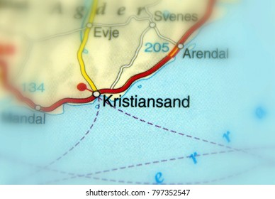 Kristiansand, a city in Norway.