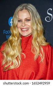 """Kristin Bauer van Straten arrives at the """"Sacred Lies: The Singing Bones"""", Facebook Watch's premiere screening, at The Hollywood Roosevelt Hotel, Feb.19, 2020 in Los Angeles, CA."""