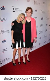 "Kristin Chenoweth, Carol Burnett at ""An Evening With Carol Burnett,"" Leonard H. Goldenson Theater, North Hollywood, CA 07-22-13"