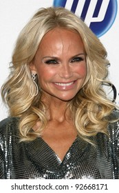 Kristin Chenoweth at the Clive Davis Pre-Grammy Awards Party, Beverly Hilton Hotel, Beverly Hills, CA. 02-12-11