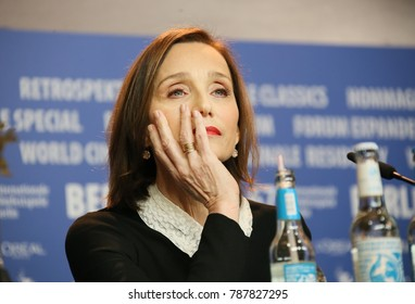 Kristin Scott Thomas attends the 'The Party' press conference during the 67th Berlinale International Film Festival Berlin at Grand Hyatt Hotel on February 13, 2017 in Berlin, Germany