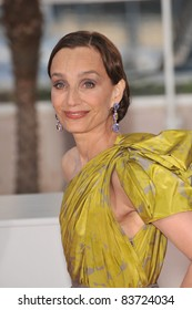 Kristin Scott Thomas at the closing Awards Gala at the 63rd Festival de Cannes. May 23, 2010  Cannes, France Picture: Paul Smith / Featureflash
